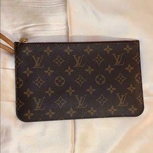 Louis Vuitton wristlet clutch